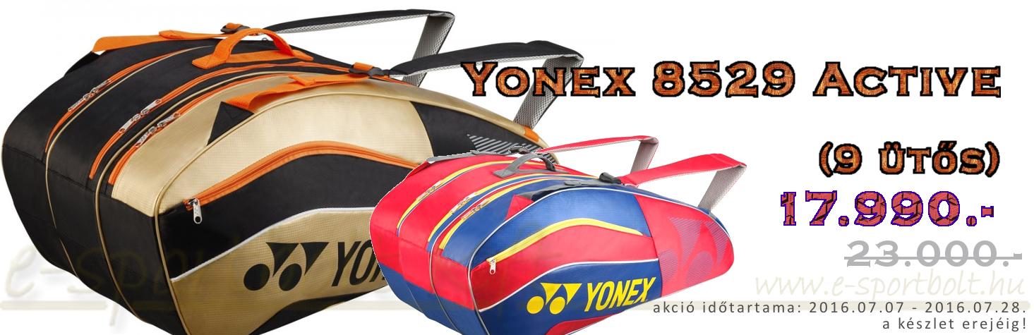 Yonex 8529 Active 9 ütős tollaslabda táska